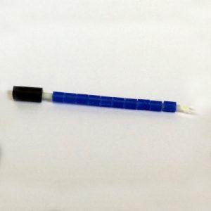 Ensfarvet 4.5 mm 10 stk. Blå