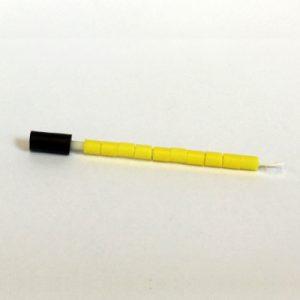 Ensfarvet 4.0 mm 10 stk. Gul